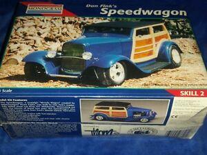 Monogram-1-25-Dan-Fink-039-s-SPEEDWAGON-Model-Kit-sealed-new-1996