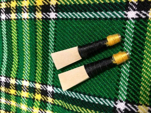 Great Highland Bagpipes Spanish Cane Reeds//Scottish Bagpipes Chanter Reeds 2 Pcs