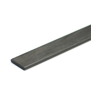 Ultra Lightweight Carbon Fiber Strip Flat 7.7mm x 1.2mm x 1000mm