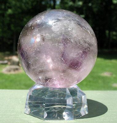 Large Smoky Amethyst Sphere / Crystal Ball