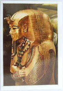 Egyptian-postcard-showing-the-second-coffin-of-Tutankhamen