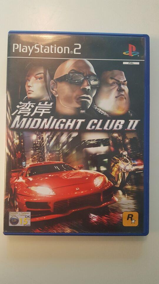 Midnight Club 2, PS2