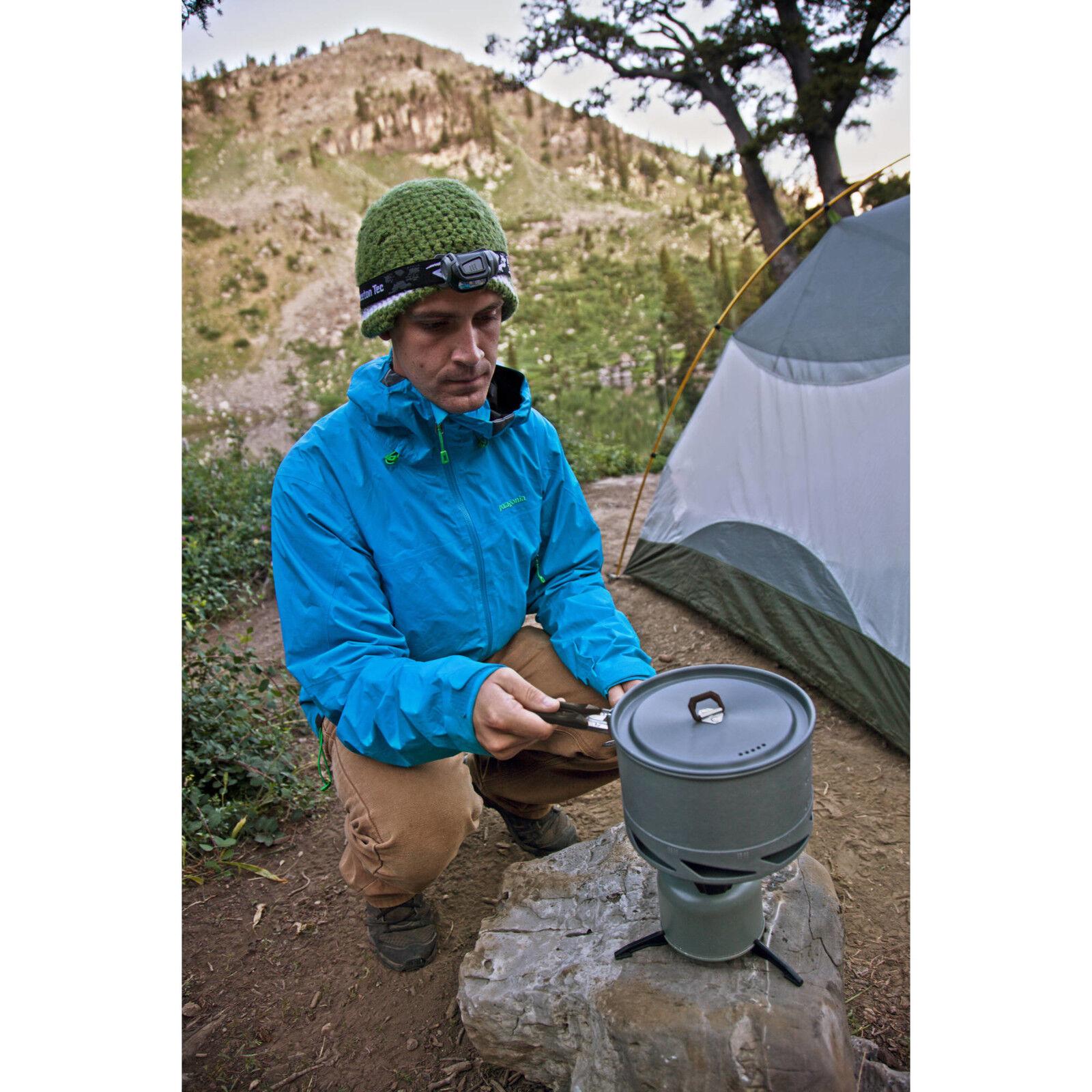 Camp Chef Stryker de 4 piezas Utensilios de Cocina Cook Set al aire libre campamento senderismo con tapa, Plata