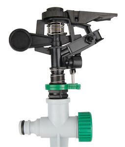 Kreisregner, Wassersprenkle<wbr/>r, Rasensprenger mit Erdspieß, frei einstellbar
