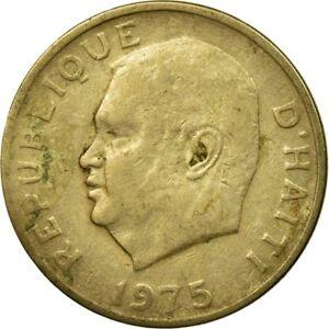 Aufstrebend [#448527] Münze, Haiti, 5 Centimes, 1975, S, Copper-nickel, Km:119 SchöN In Farbe