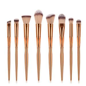 8pcs makeup brush set cosmetic eye shadow foundation