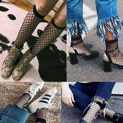 2017 Fashion Women Lace Fishnet Mesh Black Ankle Socks Anklet Short Socks