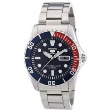 Seiko 5 Sports Pepsi Sea Urchin Automatic Men's Watch SNZF15K1
