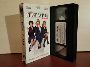 The-First-Wives-Club-Bette-Midler-Goldie-Hawn-NTSC-VHS-Video-Tape-H28