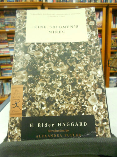 1 of 1 - King Solomon's Mines by H. Rider Haggard (Paperback, 2002)
