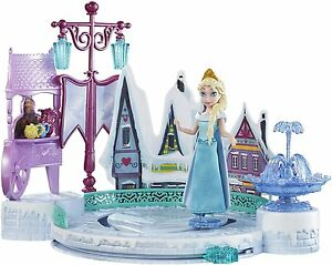 Disney-Frozen-Elsa-Ice-Skating-Rink-Playset-Castle-Ages-3-New-Toy-Play-Girls