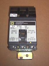 Square D FA FA34030 3 pole 30 amp 480v Circuit Breaker Gray Label Flawed UR
