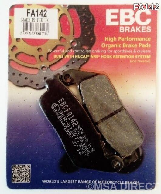 Yamaha WR125R / X (2009 to 2016) EBC Organic FRONT Disc Brake Pads (FA142) 1 Set