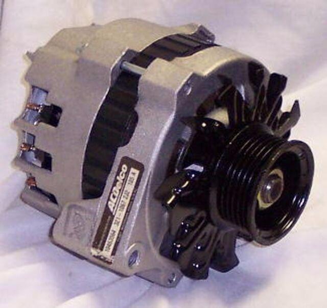 New ACDelco Reman Genuine GM Alternator 105 amp Pontiac Oldsmobile Chevrolet
