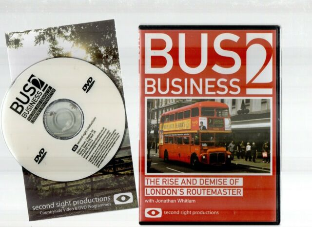 BUS BUSINESS 2 ~THE RISE AND DEMISE OF LONDON'S ROUTEMASTER~ (DVD) **FREE P&P**