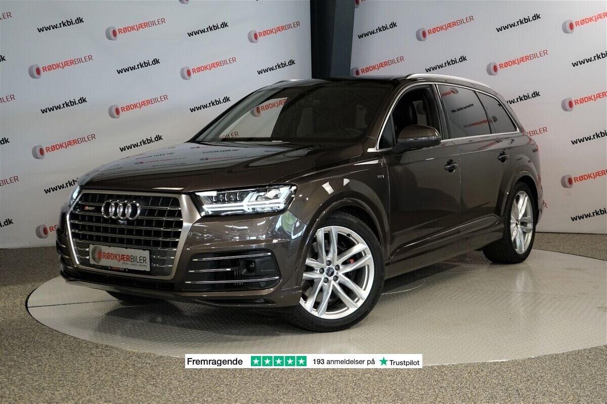 Audi SQ7 4,0 TDi quattro Tiptr. 7prs 5d - 8.434 kr.
