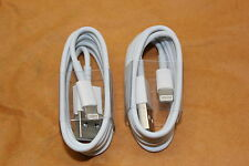 X2 TWO IPHONE 5 5C 5S IPHONE 6 6S 6S PLUS IPHONE 7 USB LIGHTNING CHARGER CABLE u