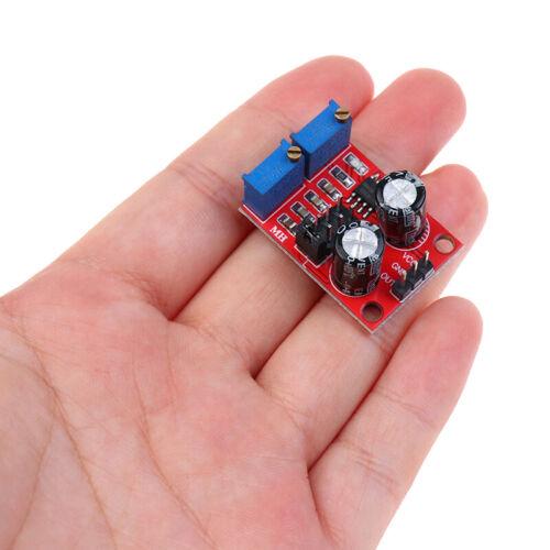 2pcs pulse adjustable square wave rectangular NE555 signal generator module SQi4