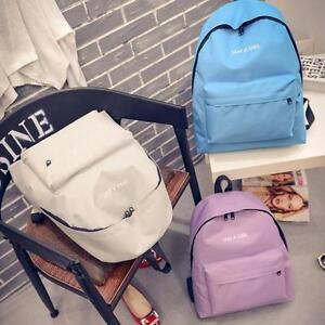 New-Girls-Canvas-backpack-Small-Fresh-Rucksack-Backpack-School-Book-Shoulder-Bag