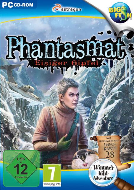 PC-Spiel PHANTASMAT: EISIGER GIPFEL (Wimmelbild-Adventure) PC-Spiele