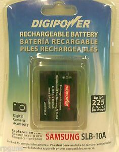 Digipower-BP-SLB10A-Rechargeable-Battery-for-Samsung-SLB-10A-FREE-SHIP-IE-531