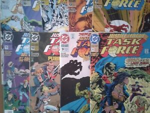 DC-COMICS-JUSTICE-LEAGUE-TASK-FORCE-1993-VARIOUS-ISSUES