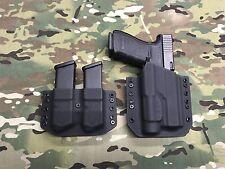 Black  Kydex Glock 20/21 Streamlight TLR-1 with Mag Carrier
