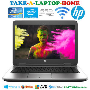HP-EliteBook-Gaming-Laptop-Core-i7-3-1GHz-Windows10-SSD-Office-Refurbished-Boxed