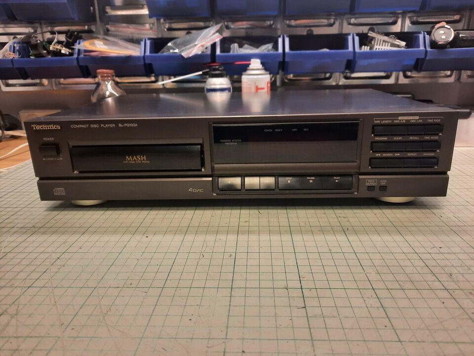 CD afspiller, Technics, SL-PG100A