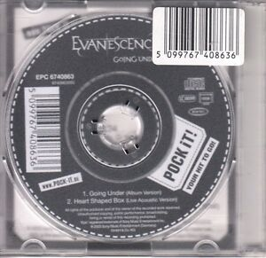 Evanescence-CD-SINGLE-GOING-UNDER-3inch