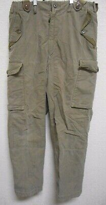 CANADIAN FORCES 1963 MENS PEERLESS GARMENT LTD  COMBAT TROUSERS G S  | eBay