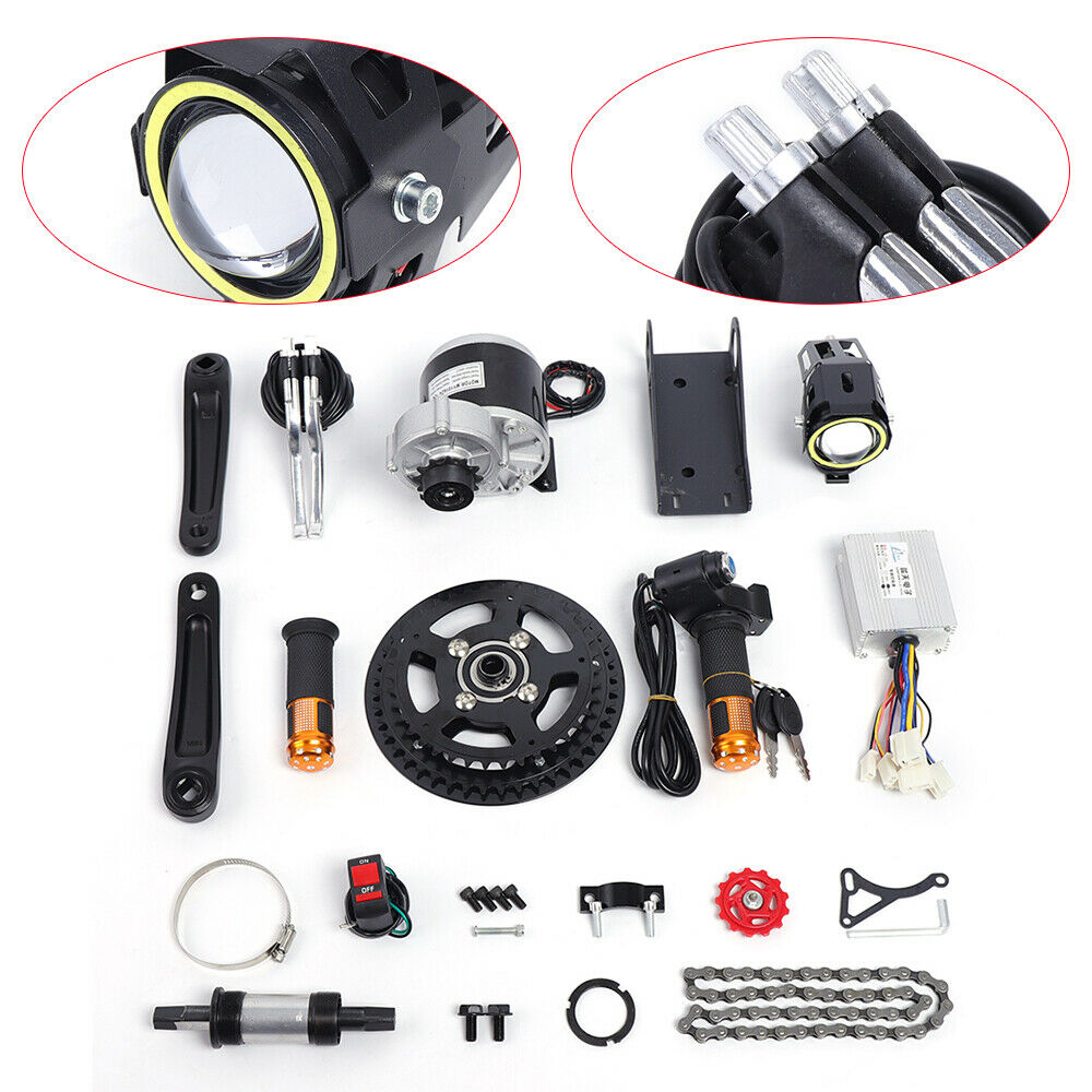 Universal 24 36 48V Mid-mounted Electric Bicycle Conversion Set  For 16 -26  Bike  excellent prices