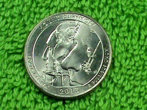 UNITED  STATES   25 Cents   2013  P   UNC   MOUNT  RUSHMORE  *