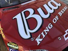 Dale Earnhardt Jr Budweiser Nascar Used Sheet Metal hood #8 DEI----Make Offer???