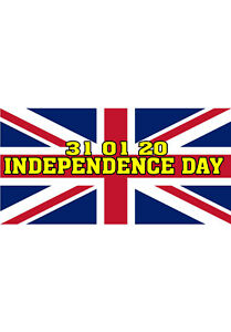 21 Independence Day Brexit Stickers - Celebrate Leaving the EU on 31st January
