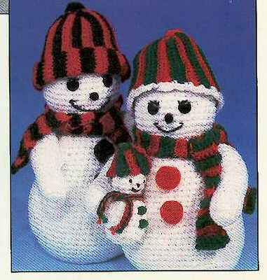 Snowman and Teddy Christmas Crochet Pattern- Lovely pattern