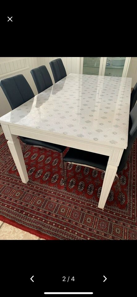 Spisebord, Daells bolighus, b: 160 l: 90