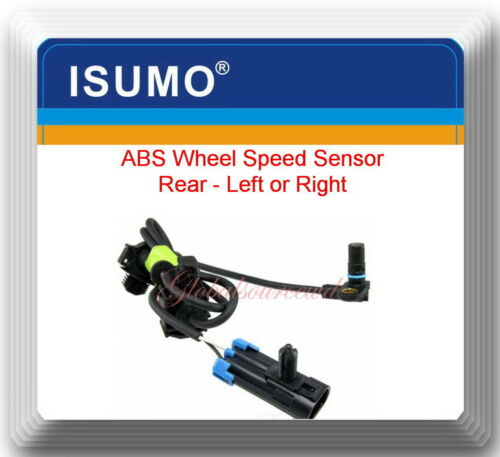Cadillac Chevrolet GMC ABS Wheel Speed Sensor Rear ALS1464 Fits