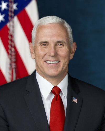 NEW OFFICIAL PORTRAIT OF VICE PRESIDENT MIKE PENCE 8X10 PHOTO
