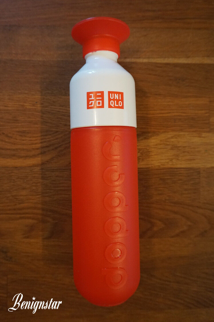 Dopper X Uniqlo Red Sustainable BPA Free Water Bottle