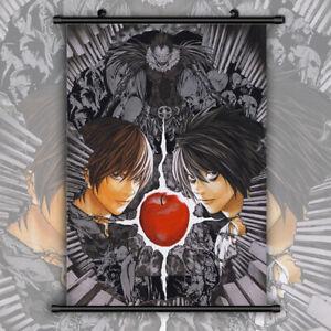 Death Note HD Print Anime Wall Poster Scroll Room Decor   eBay