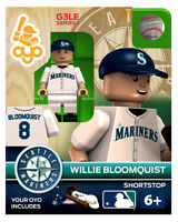 Willie Bloomquist Mlb Seattle Mariners Oyo Mini Figure G3