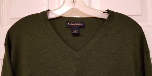 Suéter Brooks hombre en de de mezcla Xl Verde con Brothers cuello para lana v q1q8wPr