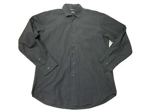 Sportscraft Mens Big And Tall Button Up Long Sleeves Shirt Size Large
