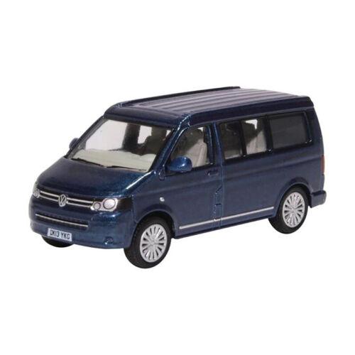 226701 NUOVO ° Oxford 76t5c001 VW t5 CALIFORNIA CAMPER BLU metallizzato Scala 1:76