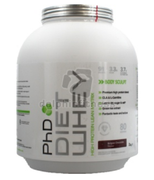 PhD Diet Whey ROTuce Body - Fat To Optimise The Results Gained - Body 2 kg 3e7453