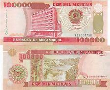 MOZAMBIQUE 1993 (100,000) METICAIS UNCIRCULATED (B)