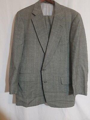 Men's Clothing Size 46 Tall Great Condition And Quailty Paul Stuart Fully Suit In Grey