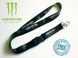 Monster Lanyard Neck Strap For Keys Id