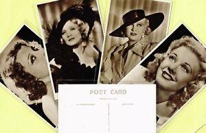 Main Series 1940s ☆ FILM STAR ☆ Postcards #1396 to #1460 PICTUREGOER